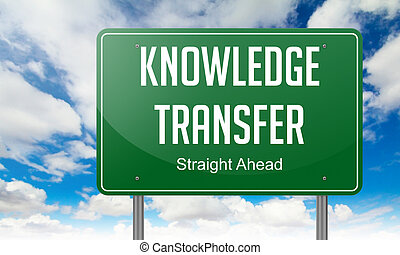 Knowledge Transfer on Highway Signpost. - Highway Signpost...