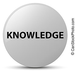 Knowledge white round button
