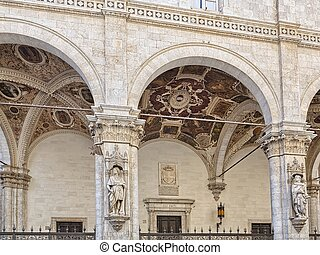"""Known House """"Loggia della Mercanzia"""" in Siena Italy - The..."""