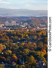 Knoxville in Autumn
