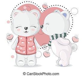 knuffelbeertjes, liefde