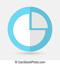 koło, białe tło, plan, handlowy