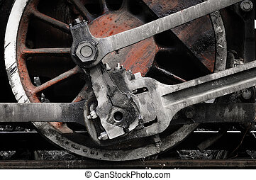 koło, pociąg