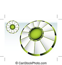 koło, zielony