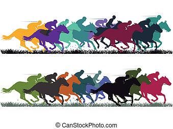 koń biegi