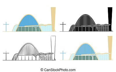 kościół, brazylia, pampulha