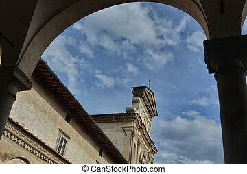 kościół, od, san, lorenzo, od, galluzzo, charterhouse