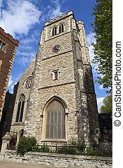 kościół, od, st, mary, na, lambeth, w, londyn