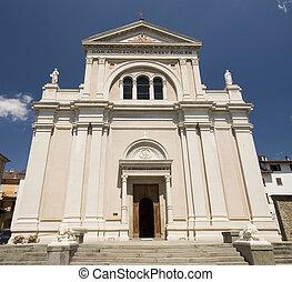 kościół, taro, borgo, val, di