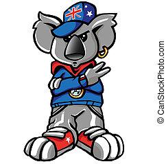 koala, batida