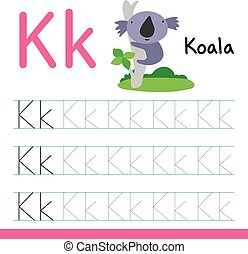 koala drawing line vector design