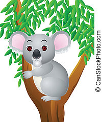 koala, karikatur