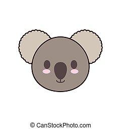 koala kawaii cute animal icon
