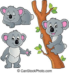 Koala theme collection 1