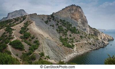 Koba-Kaya Mount - Koba-Kaya mount and Golitsyn Pathway in...