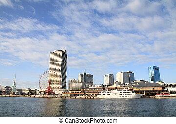 Kobe harborland in Kobe, Hyogo, Japan