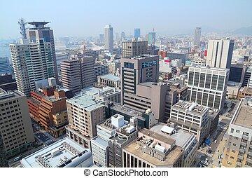 Kobe, Japan - city in the region of Kansai in Hyogo ...