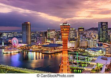Kobe, Japan Skyline.