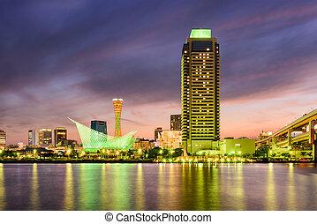 Kobe Japan Skyline