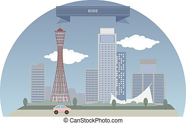 Kobe, Japan. The sixth-largest city in Japan and is the ...
