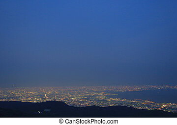 kobe night view