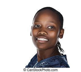 kobieta, afrykanin