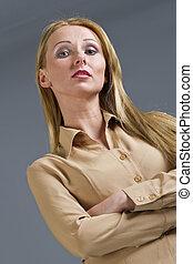 kobieta, arogancki