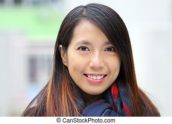 kobieta, asian