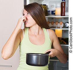 kobieta dzierżawa, faul, jadło