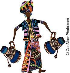 kobieta, etniczny