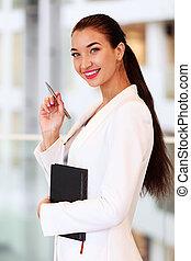 kobieta handlowa, biuro
