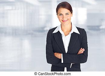 kobieta handlowa