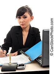 kobieta kariery, asian
