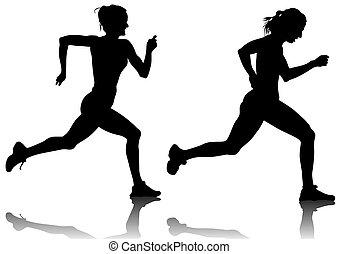 kobieta, lekkoatletyka