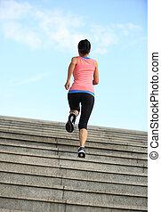 kobieta, lekkoatletyka, wyścigi