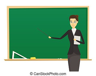 kobieta, nauczyciel