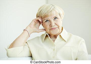 kobieta, starszy