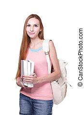 kobieta, student
