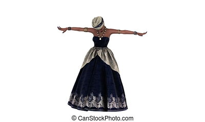 kobieta taniec