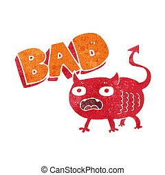 kobold, schlechte, karikatur