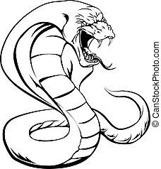 kobra, wąż