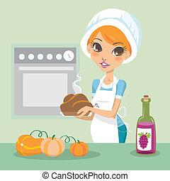 kochen, erntedank