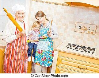 kochen, familie