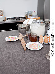 kochen, kueche , bestandteile