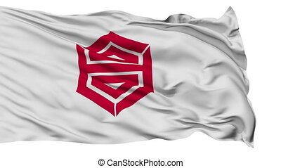 Kochi Capital City Isolated Flag - Kochi Capital City Flag,...