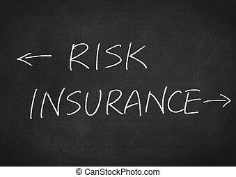 kockáztat, biztosítás
