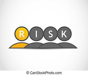 kockáztat, csoport