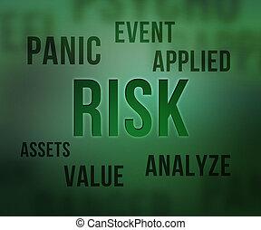 kockáztat