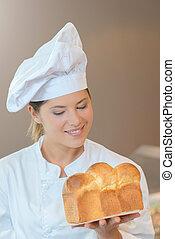 kock, holdingen, limpa om brödet