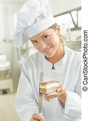 kock, holdingen, tårta